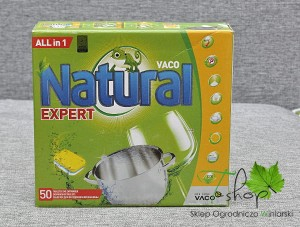 tabletki do zmywarek Natural Expert 50 szt.