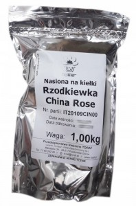 Rzodkiewka China Rose 1 kg